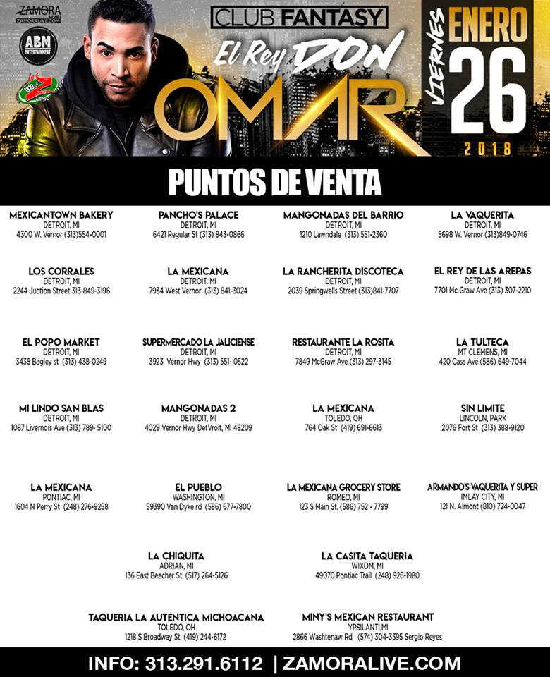 Don Omar Boletos Puntos de Eventa