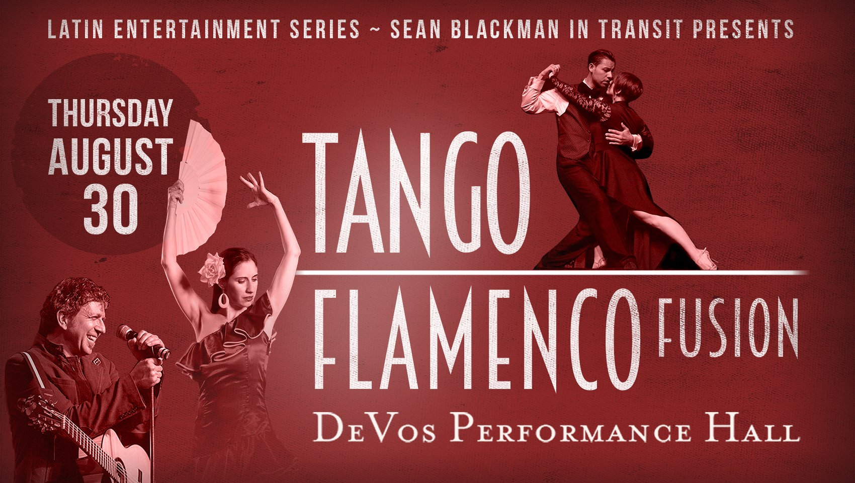Tango y Flamenco with Sean Blackman In Transit